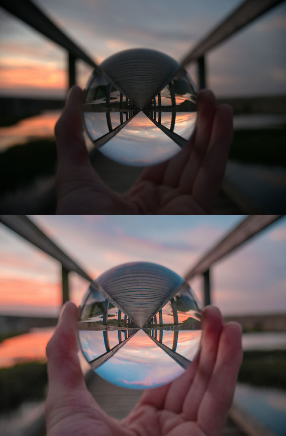 JPEG (Top) / RAW (Bottom) - Comparison