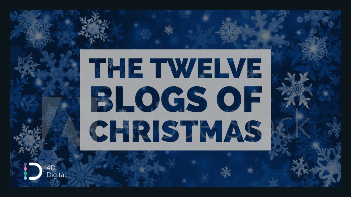 4D - 12 Blogs of Christmas